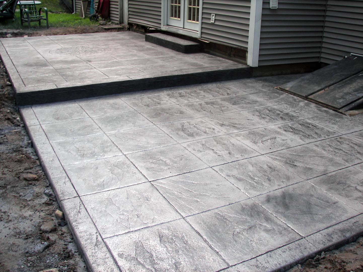 Stamped Concrete Roman And Slate On Pinterest