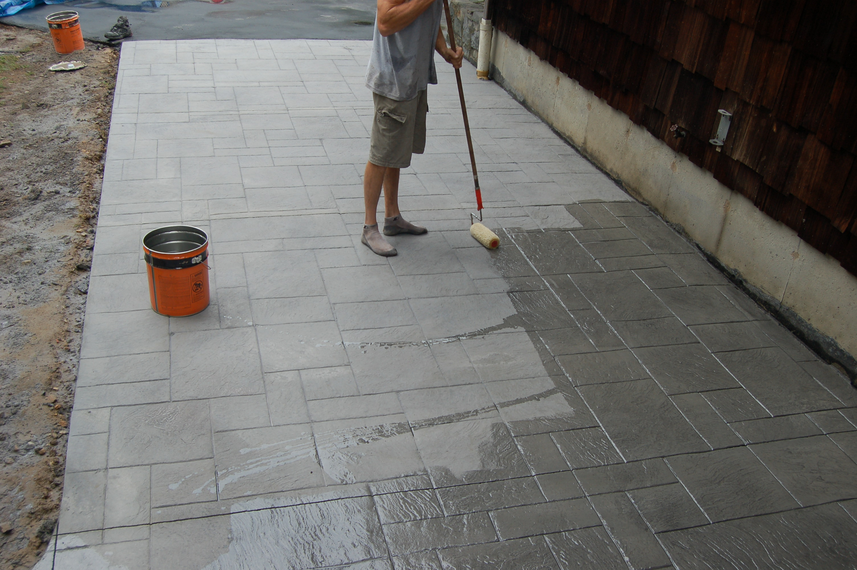North eastern decorative concrete stamped concrete for Concrete advice