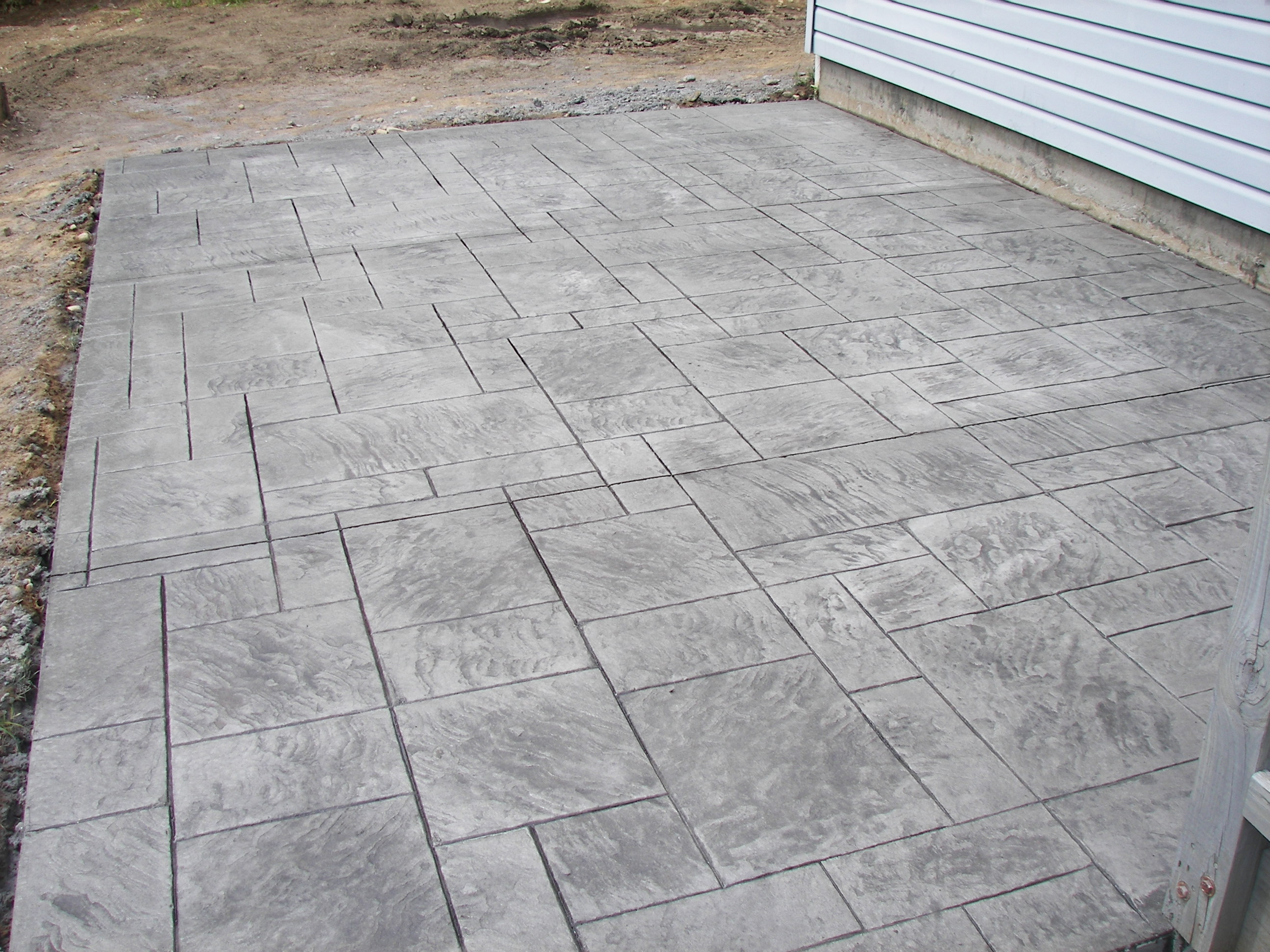 Regal Ashlar Stamped Patio