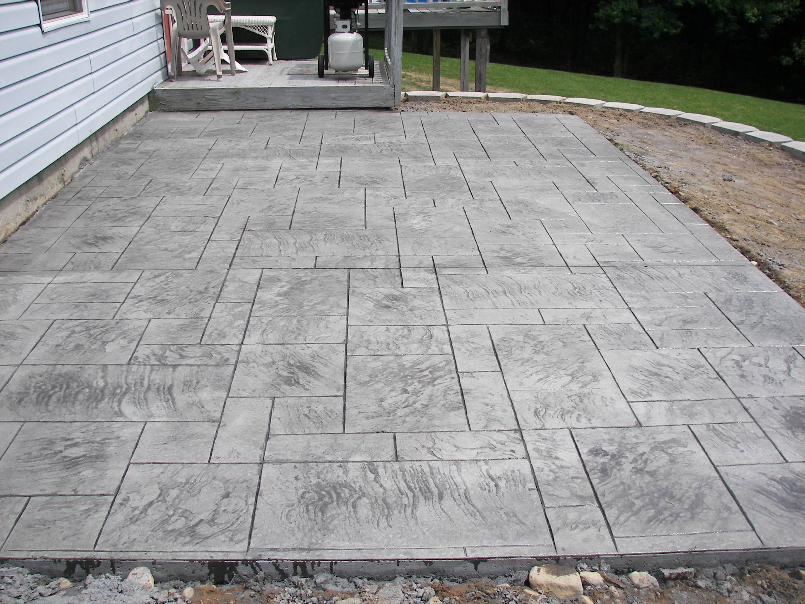 Stamped Concrete Home : Ct s stamped concrete gallery