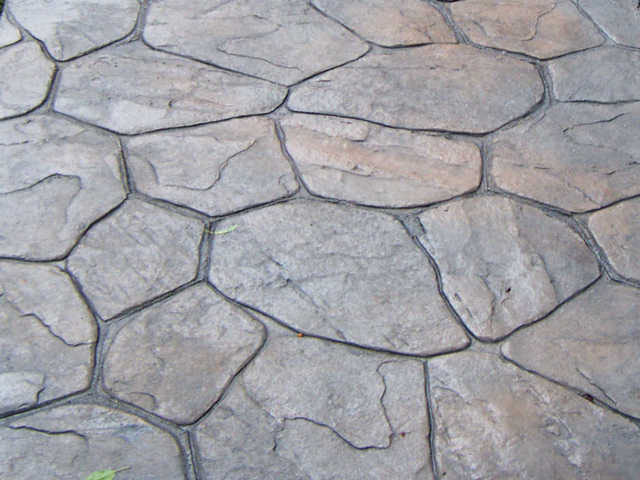 Patterned Stamped Concrete Patterns And Designs The Concrete
