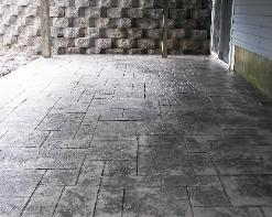 regal ashlar stamped concrete